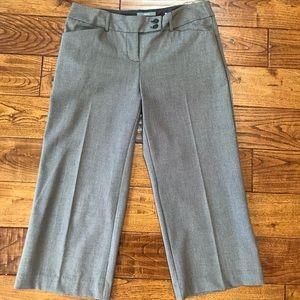 Apt 9 dressy cropped wide leg pants